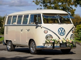 VW Splitscreen Campervan for weddings in Crawley